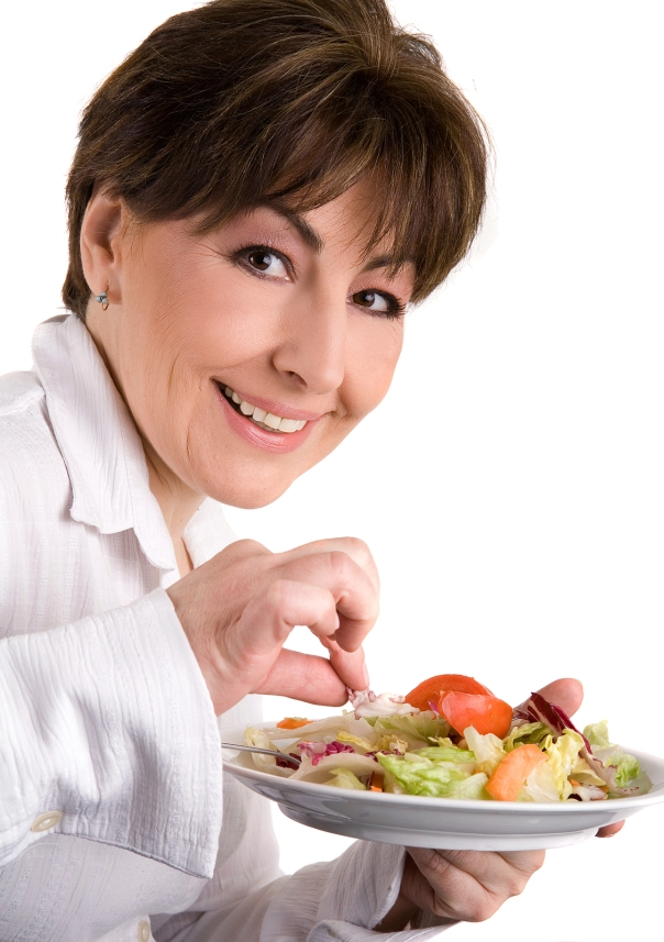 woman-on-a-diet-eating--20376329