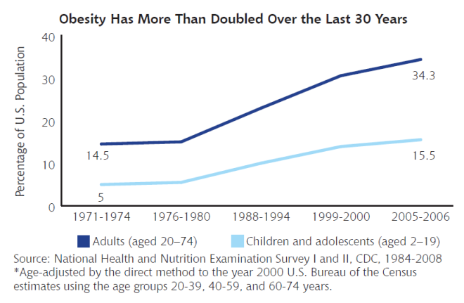 rate-of-rise-of-obesity-in-usa